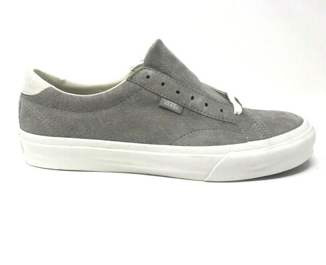 24521a6986 Vans Court DX Pig Suede Cool Grey Men s 8.5 Women s 10 Skate Shoes ...