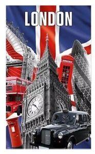 London photographic torchon big ben rouge téléphone boîte bus souvenir cadeau