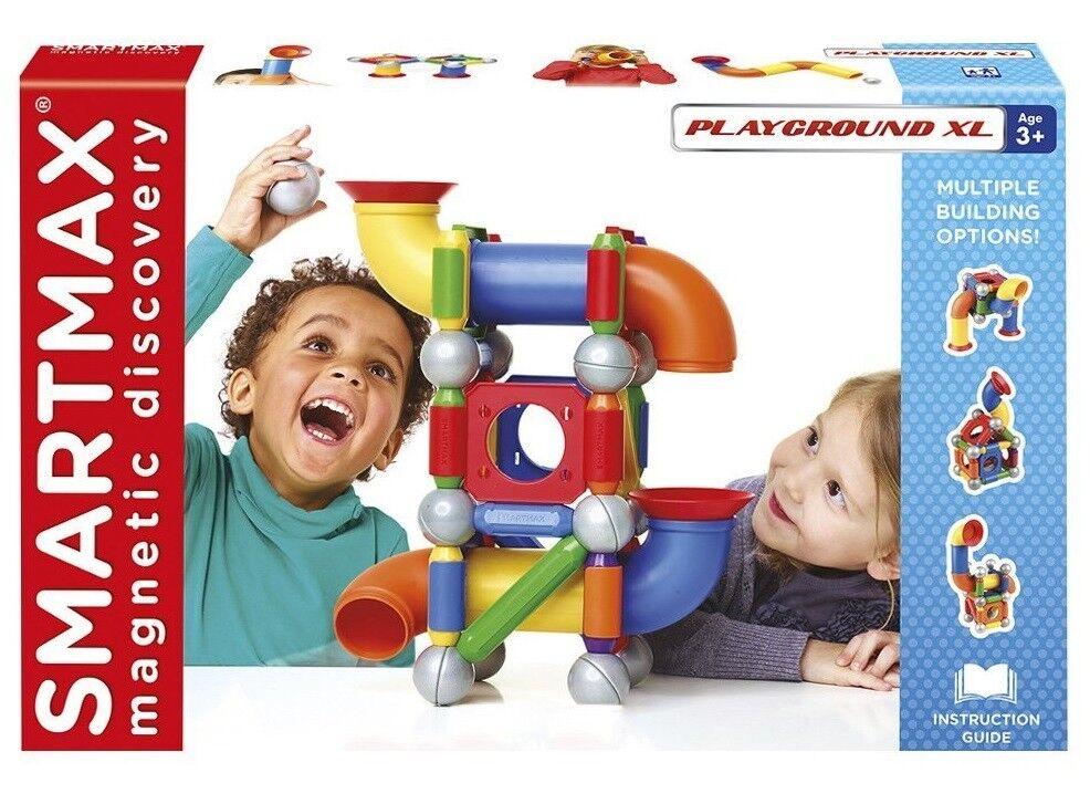 Smartmax Playground XL XL XL 46 - teilig Magnetbausteine Magnetbaukasten SMX515 3b3d65