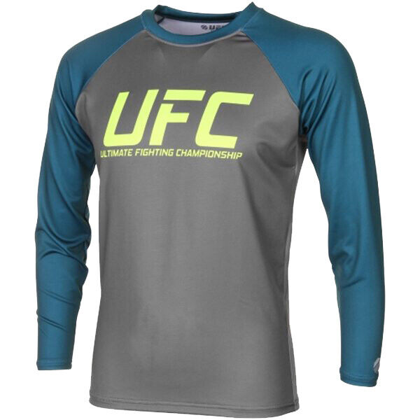 UFC TUF Team Pettis Rashguard - Grey Dark Teal