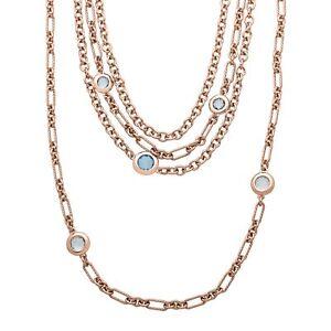 4-3-4-ct-Sky-amp-London-Blue-Topaz-Link-Necklace-in-18K-Rose-Gold-Plate