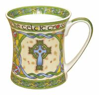 Irish High Cross Bone China Mug - An Irish Gift Designed In Galway Ireland., on sale
