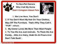 Funny Dog Italian Greyhound House Rules Refrigerator / Magnet Gift Card Insert