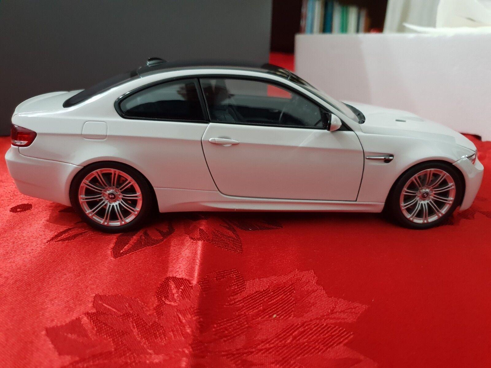 BMW M3 E92 COUPE' BIANCO KYOSHO 1 18