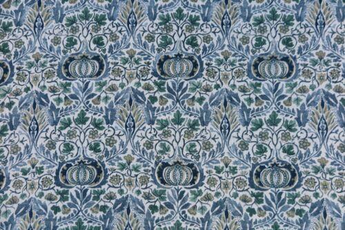 William Morris Tela De Cortina poco Zaraza 3 metros Azul Y Hinojo Oferta Especial