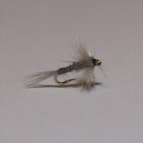 BLUE DUN Midge Micro flies trout by Dragonflies size options 20,22,24