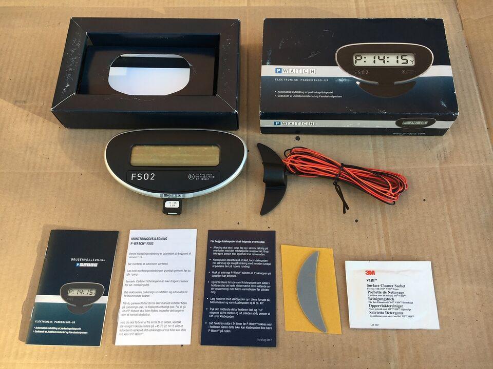 Hypermoderne P-skive, P Watch FS02 – dba.dk – Køb og Salg af Nyt og Brugt MF-56