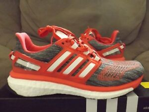 Details about Adidas Energy Boost 3 Women's Running Shoes GrayCrimsonWhite BA7942 New wBox