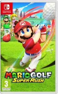 Mario Golf Super Rush (Nintendo, 2021)