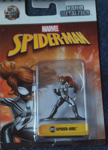 MV33 MARVEL SPIDER-MAN FIGURE Details about  /NANO METALFIGS SPIDER-GIRL