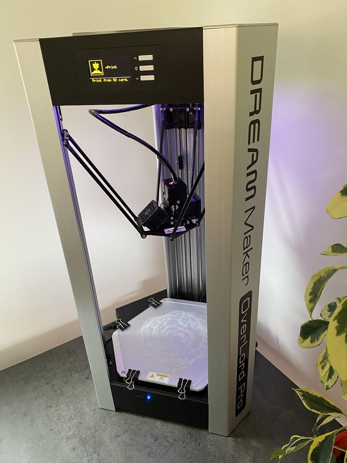 DreamMaker OverLord Pro 3D Printer