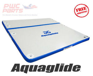 AQUAGLIDE SUNDECK Lounger 7.5' Water Float Pool Beach Lake Toy New 585215140