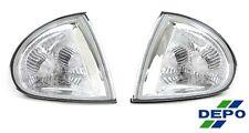 93-97 Honda Del Sol Clear Corner Lights w/cap DEPO 95