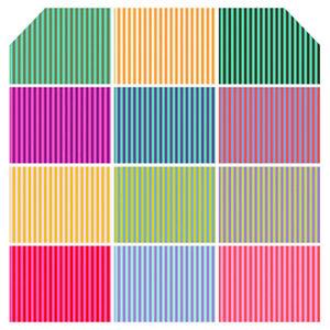 Tula-Pink-Stripes-Fabric-Half-Yard-Bundle