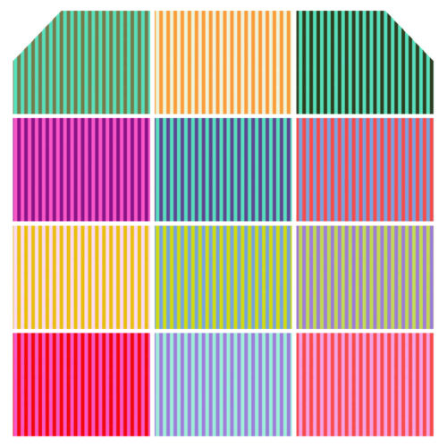 Half Yard Bundle Tula Pink Stripes Fabric