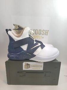 b2ea81e2c480 Nike Lebron Soldier XII 12 SFG Mens AO4054-100 White Midnight Navy ...