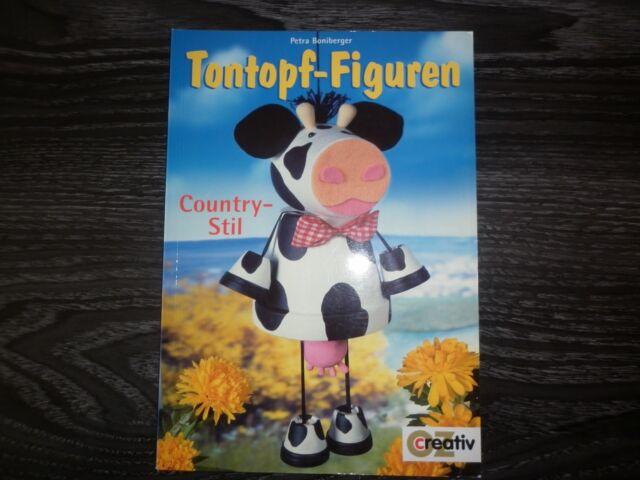 Tontopf-Figuren Country-Stil
