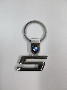 Original Bmw Schlusselanhanger 5er Mit Dreifarbigem Bmw Logo Ebay