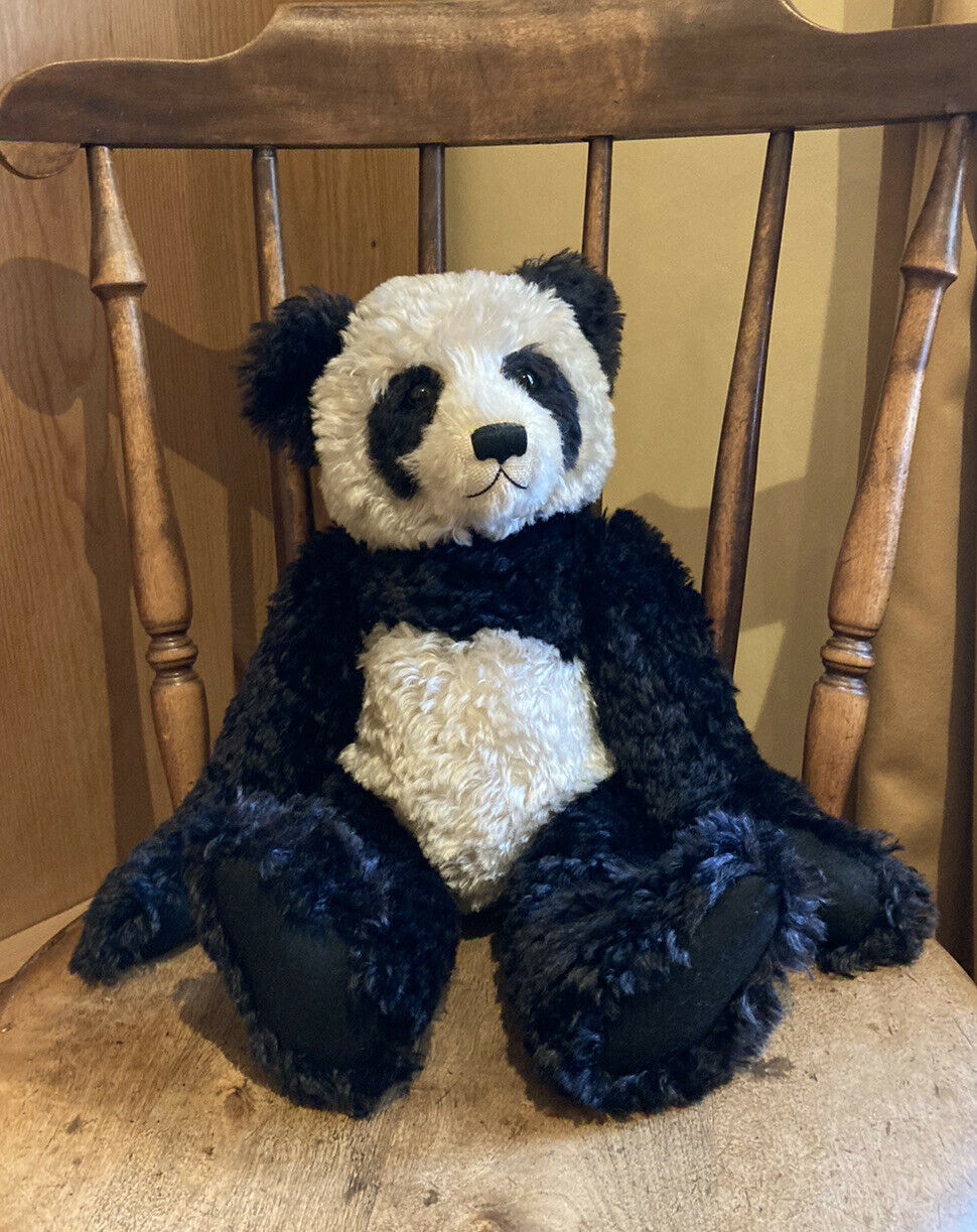 Stunning PANDA artist Bear Limited edition By MOTHER HUBBARD No7 Of 20 1998