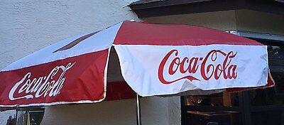 NEW COCA COLA COKE PATIO UMBRELLA.