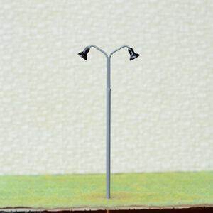 5-x-OO-HO-scale-LED-street-light-model-train-railroad-path-lamp-post-771GR