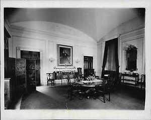 1940 President Roosevelt Private Dining Room White House ... 1940s White House Scottie
