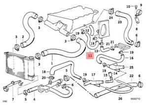 Genuine Engine Thermostat Water Hose BMW E30 318i 318is Cabrio 11531721846  | eBayeBay