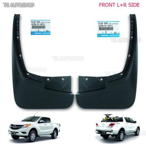 L+R Mud Flaps Splash Guard Front Genuine Fit Mazda BT-50 Pro 4x4 Ute 2012 13 16