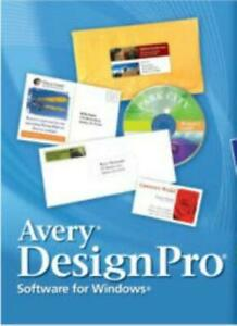 Avery Designpro 4 0 Media Edition Pc Cd Print Labels Business Cards Dvd Inlays Ebay