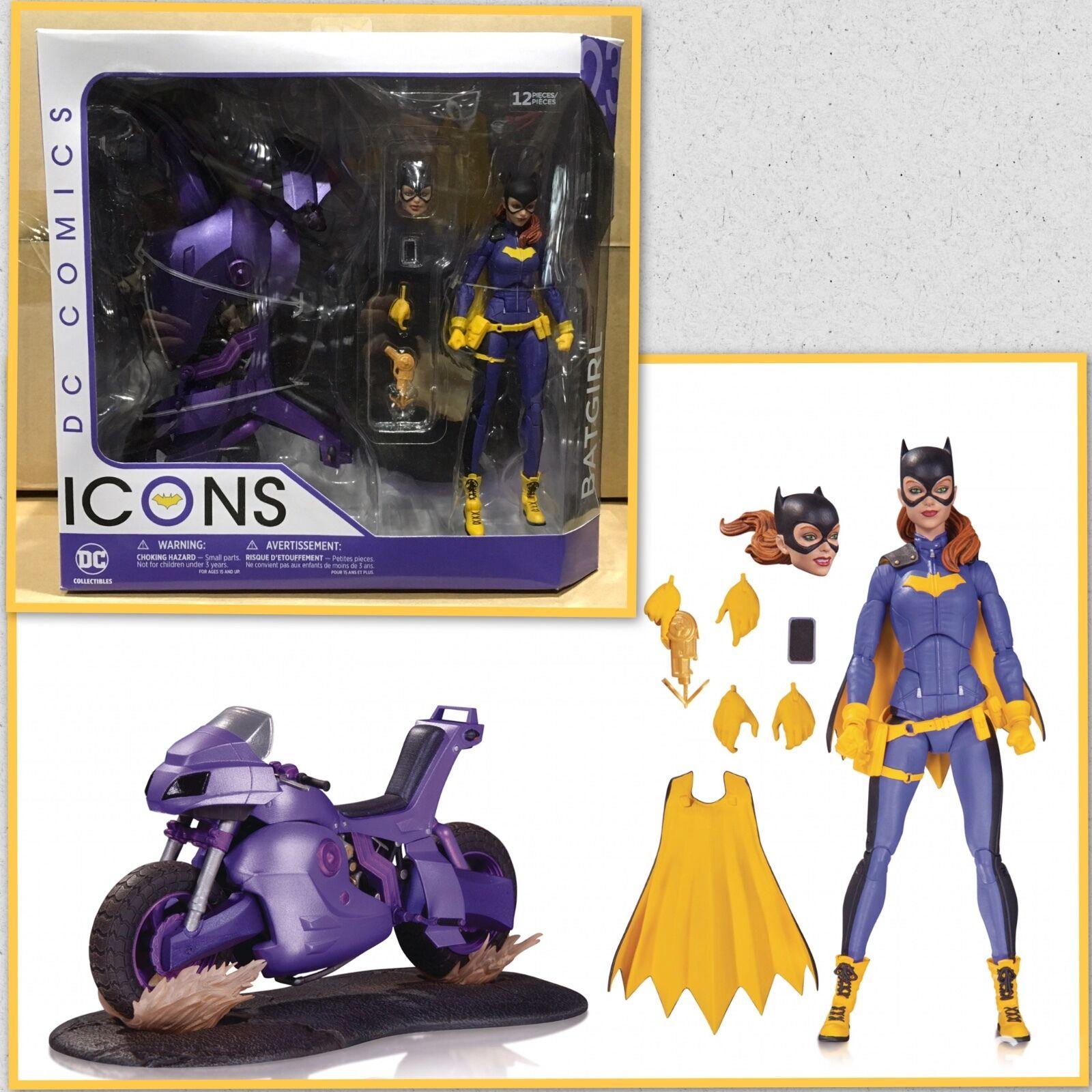 DC iconos Batgirl de Burnside Dlx Figura de Acción DC COMICS