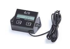 LCD Tachometer Hour meter 2 4 Stroke GAS Engine Spark atv kawasaki mule teryx