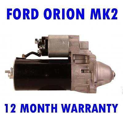FORD ORION MK2 MK II 1.6 1.8 1985 1986 1987 1988-1993 STARTER MOTOR