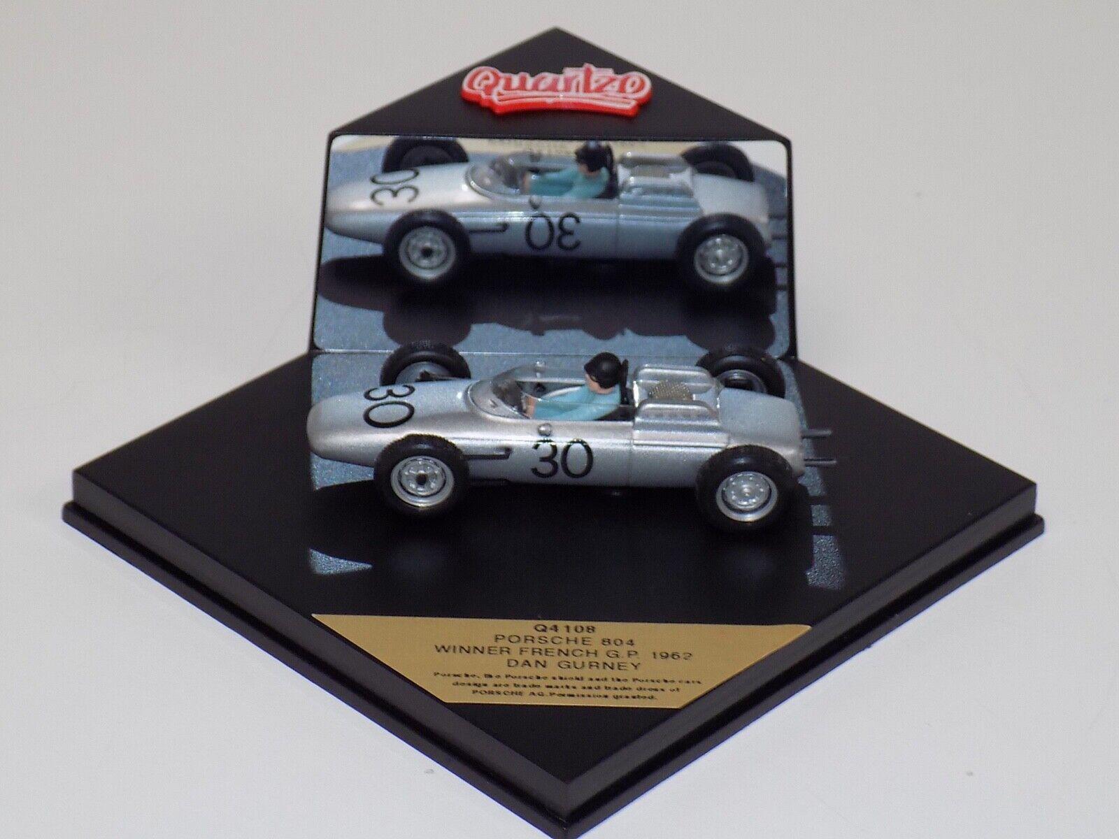 1 1 1 43 Quartzo F1 Porsche 804  Car winner 1962 French  GP D.Gurney Q4108 84abb1