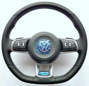 VW-Golf-7-Passat-CC-Arteon-T-Roc-Polo-Tiguan-Scirocco-T6-R-Line-steering-wheel