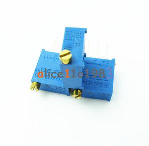 10Pcs-3296W-104-3296-W-100K-ohm-Trim-Pot-Trimmer-Potentiometer-AL