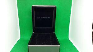 EMPORIO-ARMANI-Watch-Box-Black-color-Presentation-Box