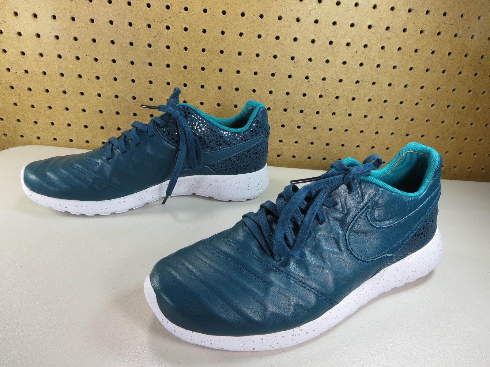 NEW Nike mens turquoise Roshe Tempo VI FC QS 861459 300 9.5 M NWOB