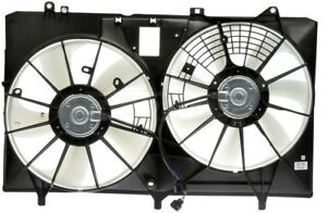 Engine-Cooling-Fan-Assembly-Dorman-620-581-fits-11-16-Toyota-Sienna-3-5L-V6