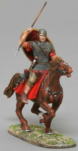 Imperial Roman Auxiliary Cavalry with Spear - Ala II