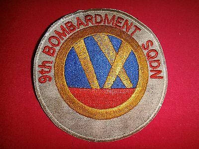 Collectibles Us Air Force 9th Bombardment Squadron Patch