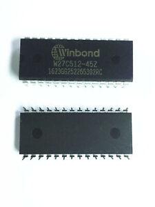 10PCS-W27C512-45Z-W27C512-DIP28
