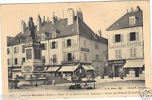 39-cpa-LONS-LE-SAUNIER-Place-de-la-Liberte