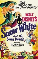 SNOW WHITE AND THE SEVEN DWARFS (DVD, 1937, CHILDREN'S)