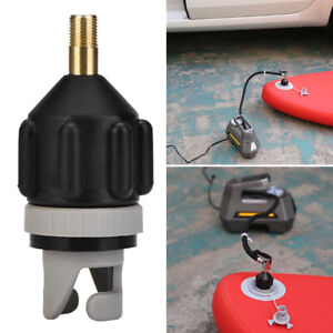 Board Kayak Attachment Air Valve Compressor Sup Inflatable Pump Adapter Boat