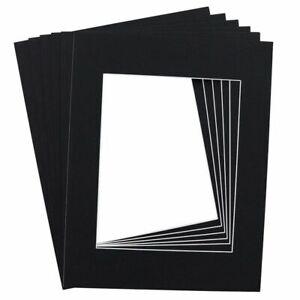 15-Pack Noir 11 x 14 in (environ 35.56 cm) Photo Bordures cadre planches pour 8 x photos 10 in (environ 25.40 cm)