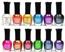 New Kleancolor Nail Polish Lot Of 10 Assorted Metallic Colors Full Size Art