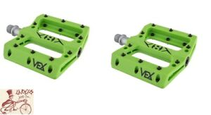 """1 Sealed /& 1 Sleeve 9//16/"""" Orange Origin8 Vex Platform Bicycle Bike Pedals"""