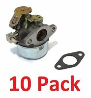 (10) Carburetors For Tecumseh 632107a Hssk40 Hssk50 Hs50 Lh195sa Small Engine