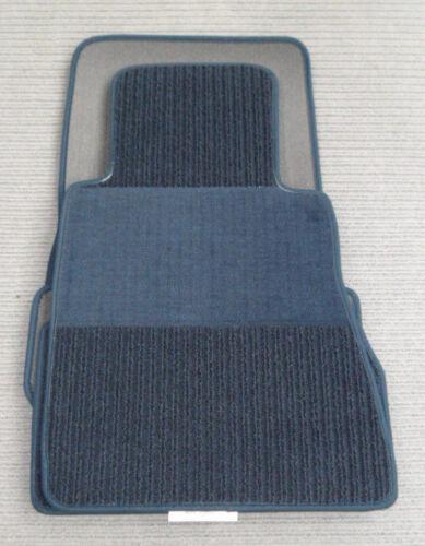 BLAU $$$ Rips Fußmatten passend für Mercedes Benz C123 W123 Coupe NEU $$$
