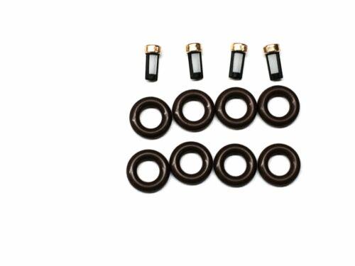 FUEL INJECTOR REPAIR KIT O-RINGS FILTERS 1989-1994 GM 2.3L L4